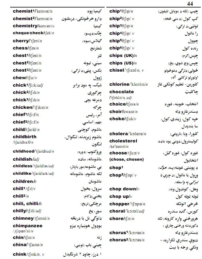 Download english to pashto dictionary software